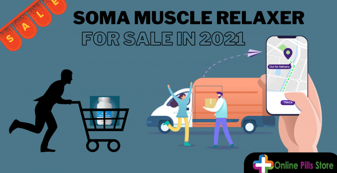 Soma muscle relaxer for sale